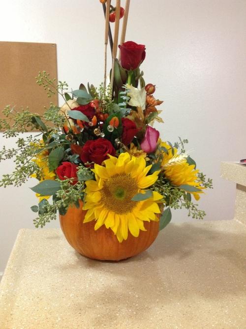 Pumpkin Vases Smell The Flowers Blog